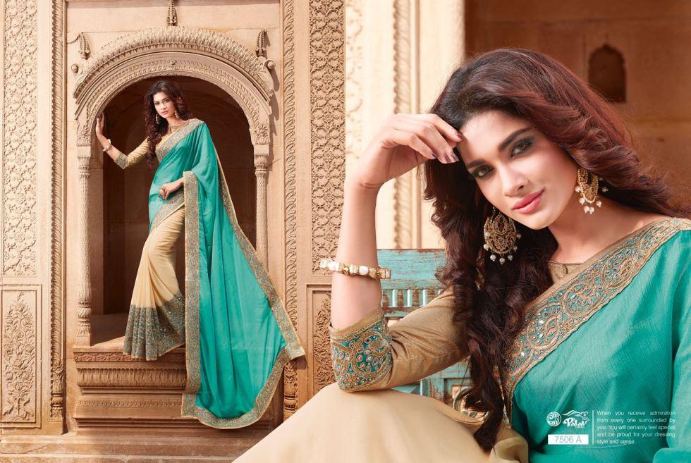 Palav Fabric Designer Saree PP7506A