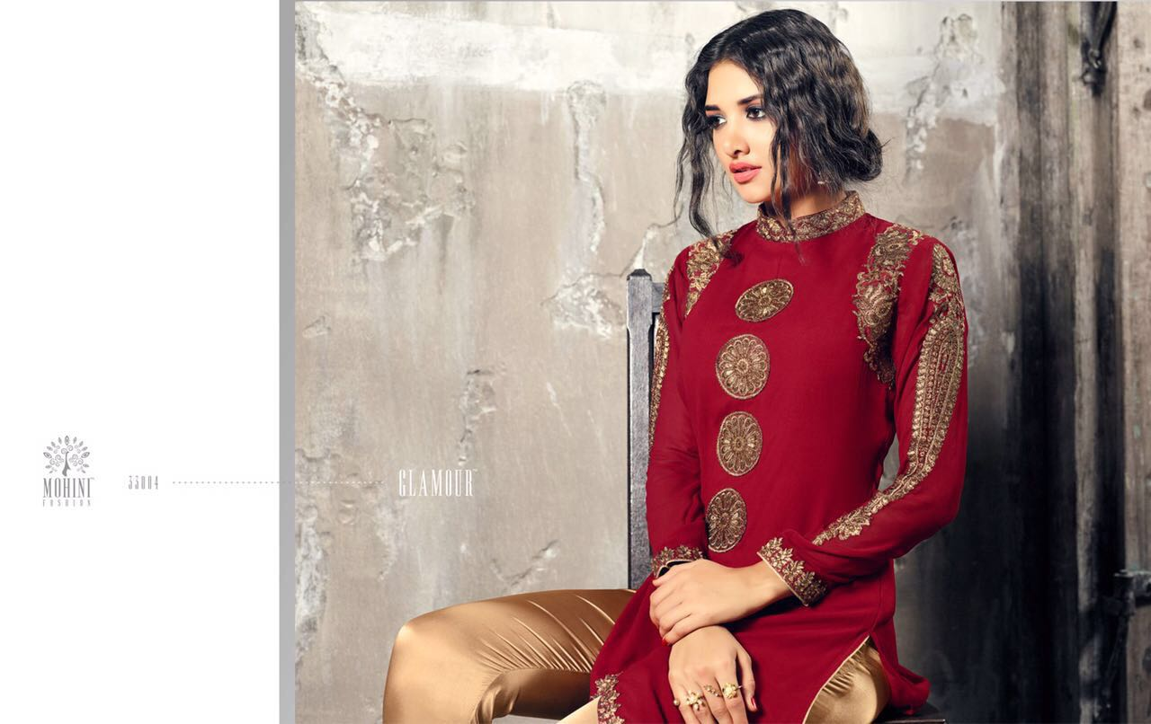 Mohini Fashion Indo Western Suits Glamour vol 33