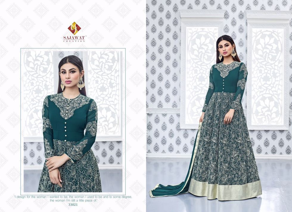 Sajawat Nagin Vol 3 Designer Suits 33021