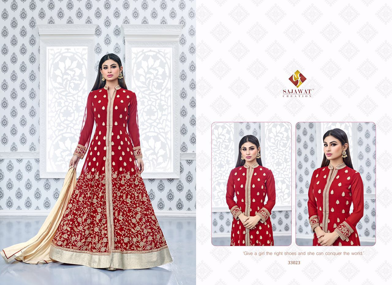 Sajawat Nagin Vol 3 Designer Suits 33023