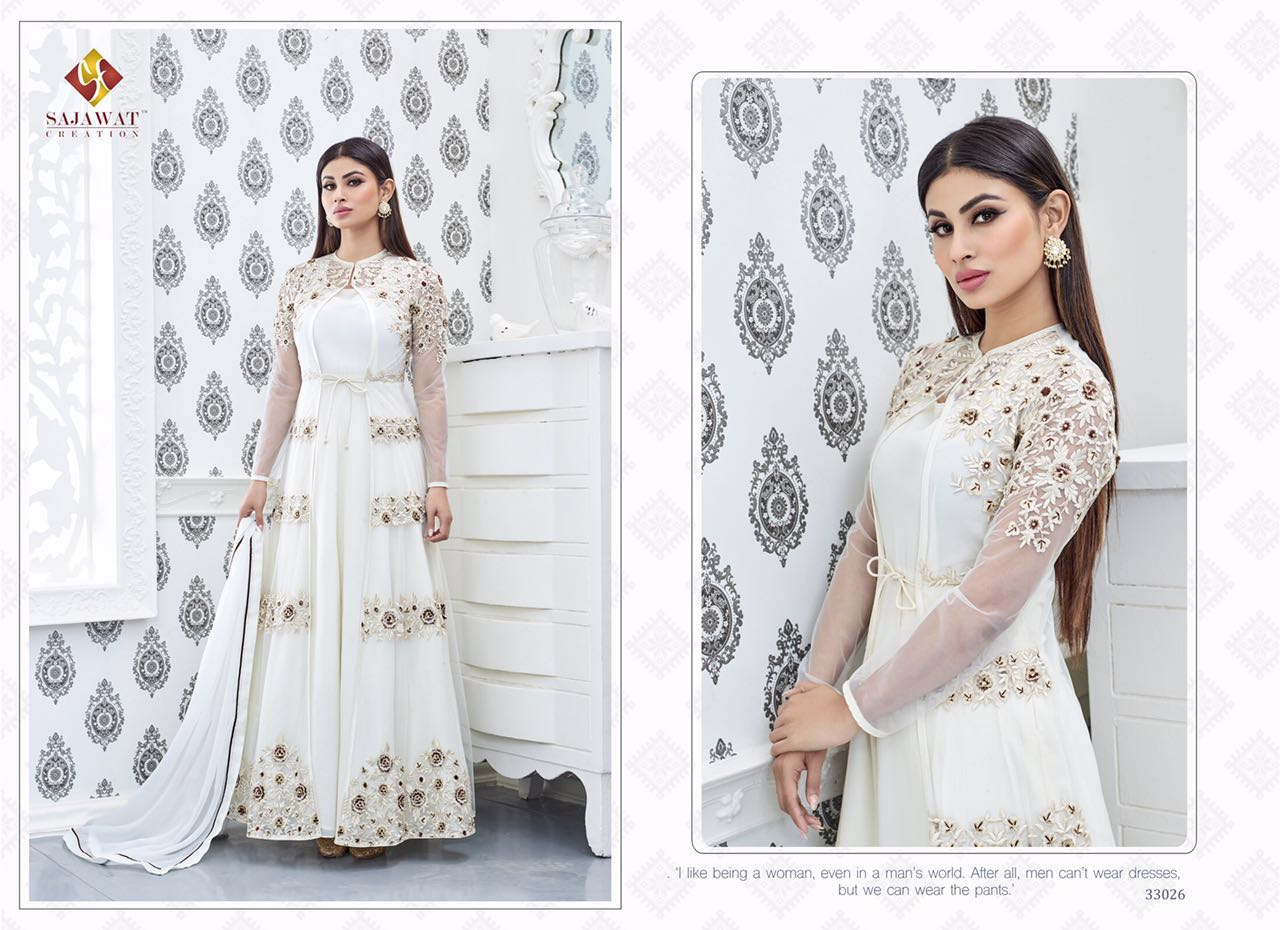 Sajawat Nagin Vol 3 Designer Suits 33026