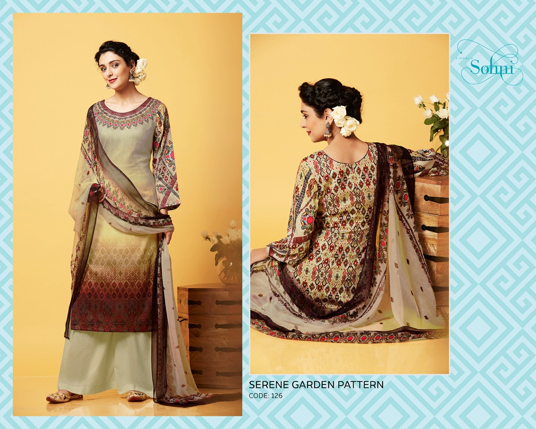 Kimora Sohni 3 Cotton Churidar Suits