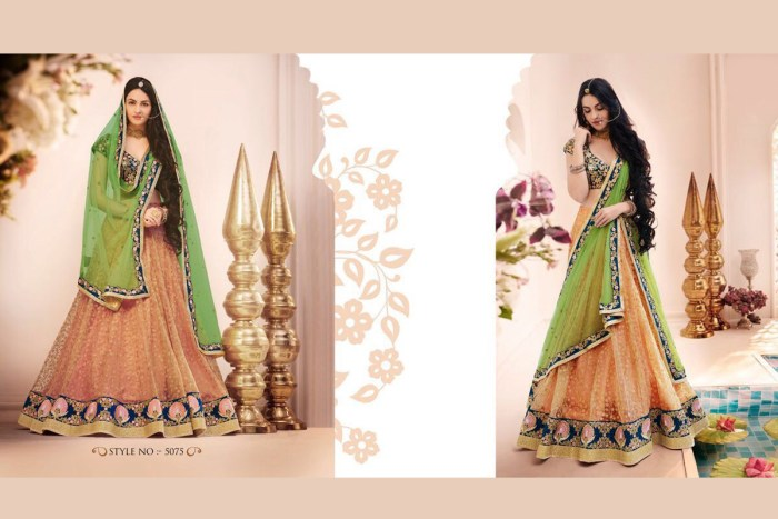 Nakkashi Ethnic v2 Lehenga Saree 5075 | Brides Wear