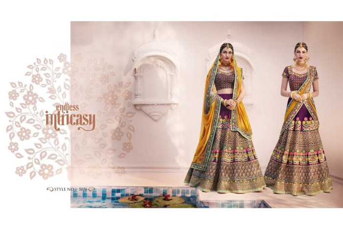 Nakkashi Ethnic v2 Lehenga Saree 5076 | Brides Wear