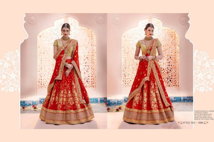 Nakkashi Ethnic v2 Lehenga Saree 5084 | Brides Wear