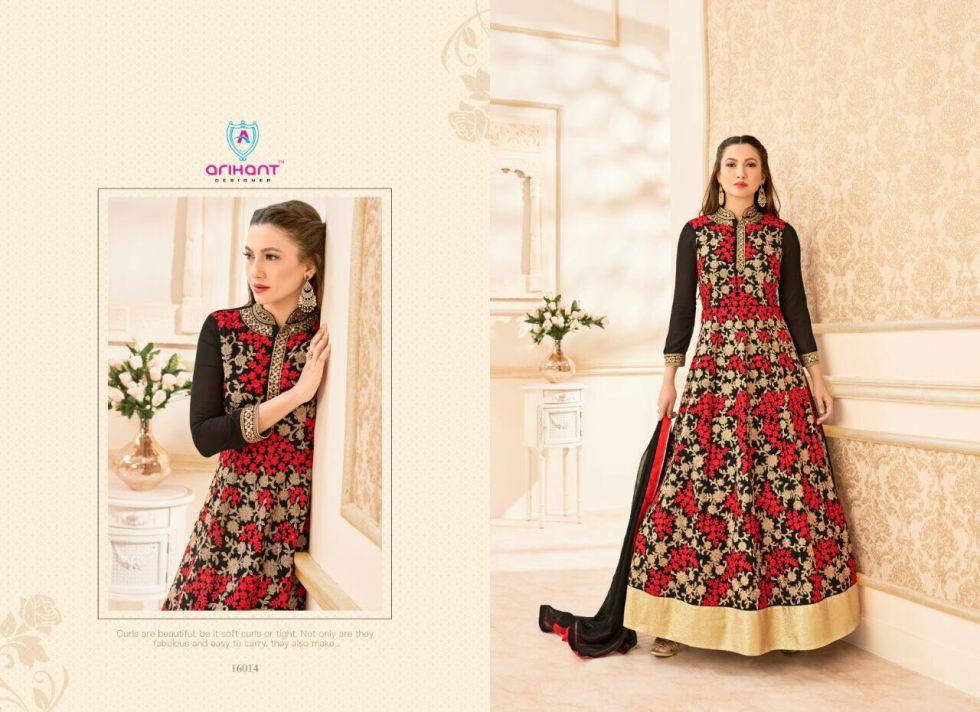 Hamim vol 7nx Floor length Salwar Kameez by Arihant Designer 16014