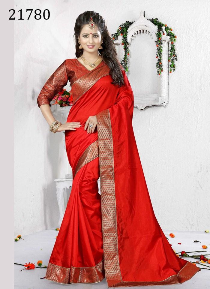 Art Silk Saree Riana 21780   Occassional Wear for Ladies