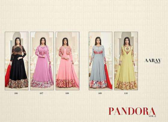 Floor Length Anarkali PANDORA VOL 2 by AARAV Trendz