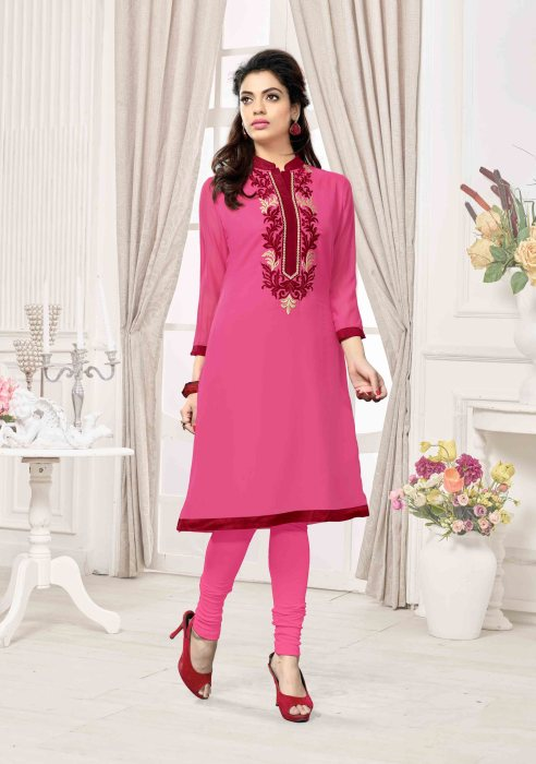 Georgette Readymade Kurti Ragini CB041 | Ladies Wear