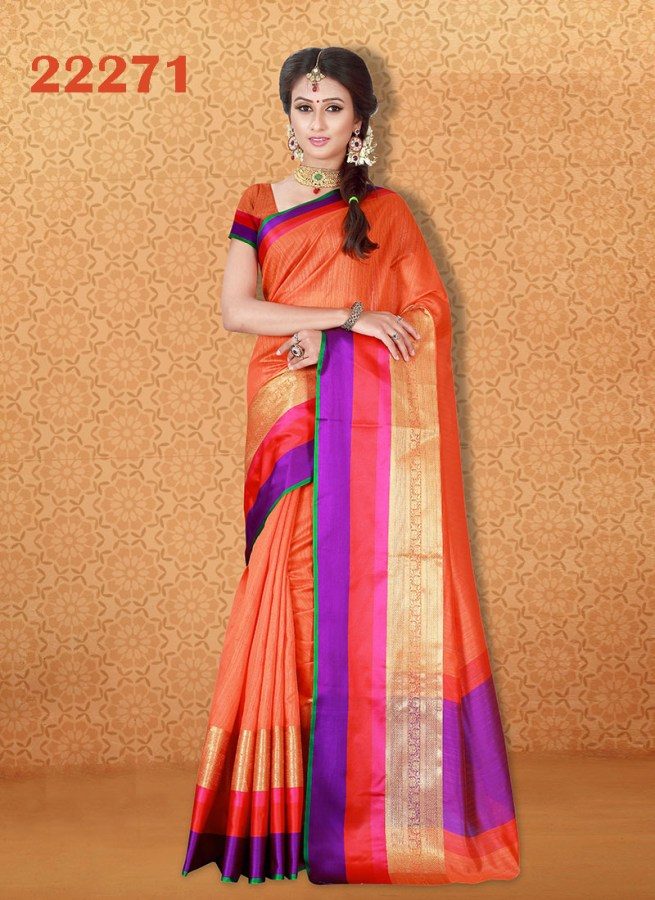 Kanjivaram Sarees Chennai Express v7 22271 | Bride Special