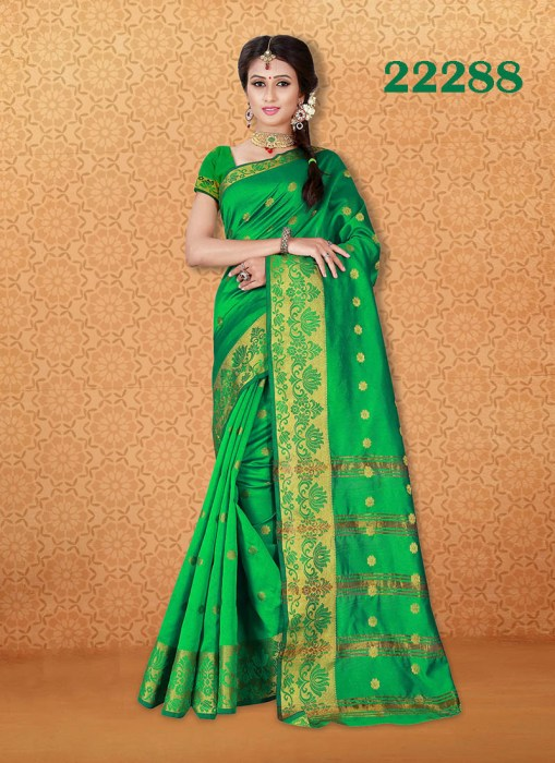 Kanjivaram Sarees Chennai Express v7 22288 | Bride Special