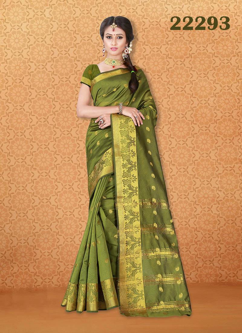 Kanjivaram Sarees Chennai Express v7 22293 | Bride Special