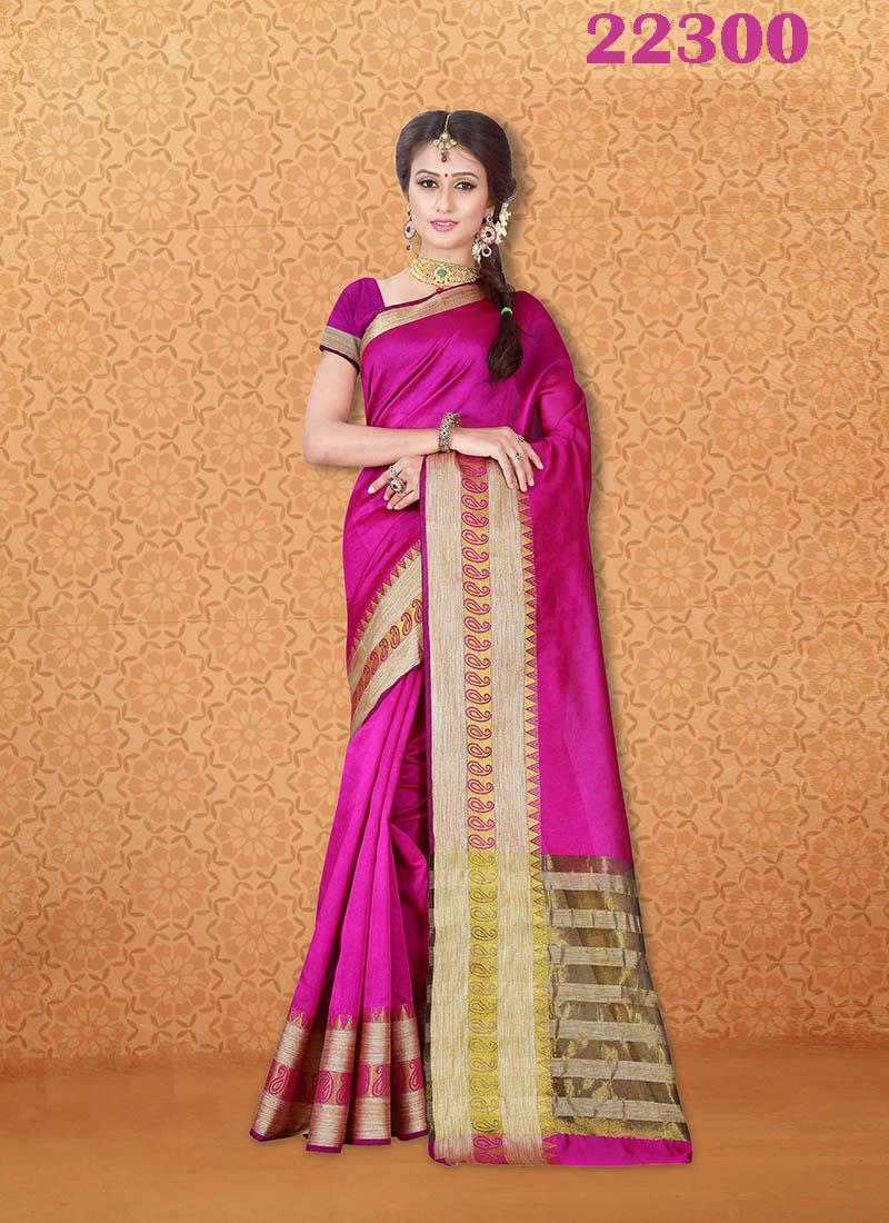 Kanjivaram Sarees Chennai Express v7 22300 | Bride Special
