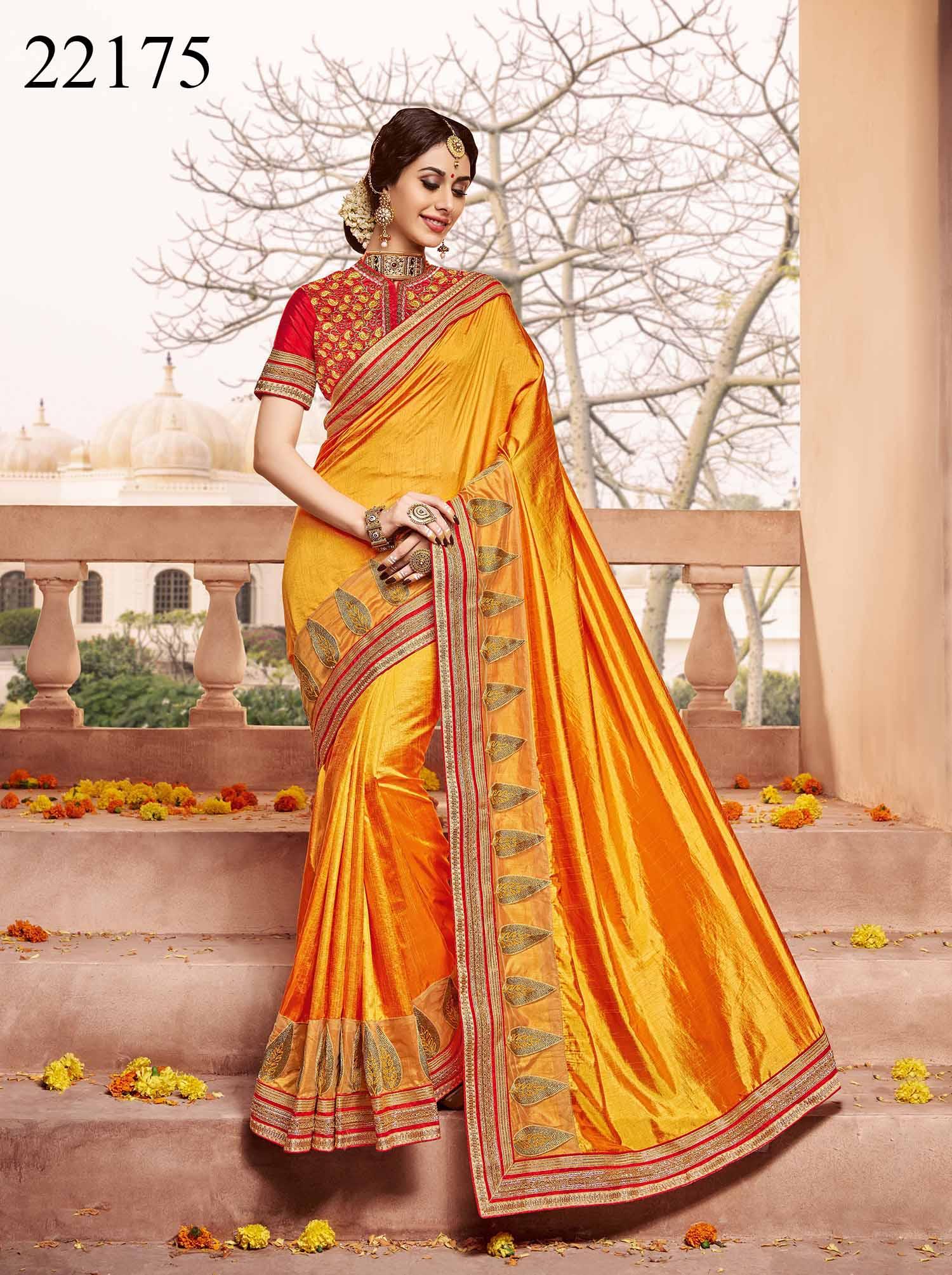 Newly Wedded Bridal Saree Dania 22175 | Bride Special