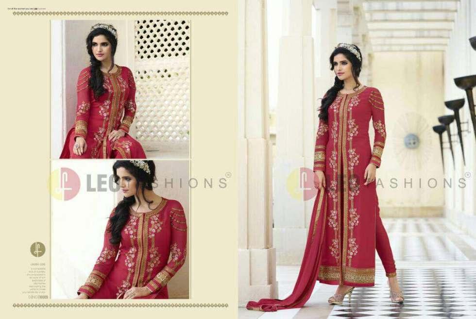 Afreen Long Indo Western Salwar Kameez 10009