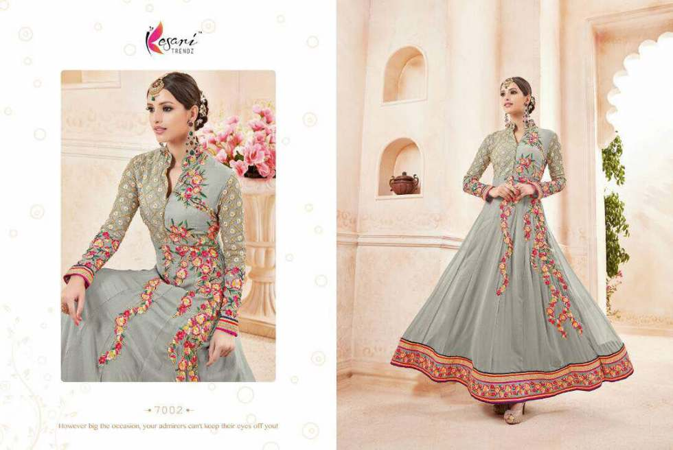 Kyra Floor Length Anarkali Suits 7002 B