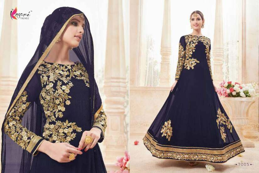 Kyra Floor Length Anarkali Suits 7005 A