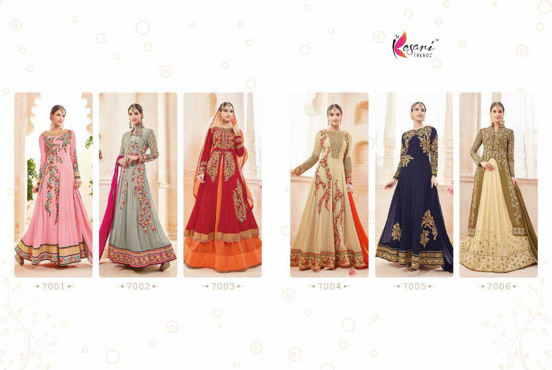 Kyra Floor Length Anarkali Suits