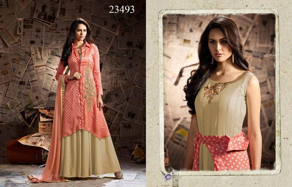 Mugdha Ethnic Touch Designer Party Wear Dresses 23493