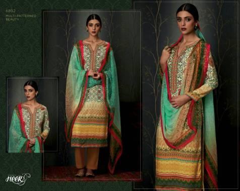 Kimora Heer Dress Materials