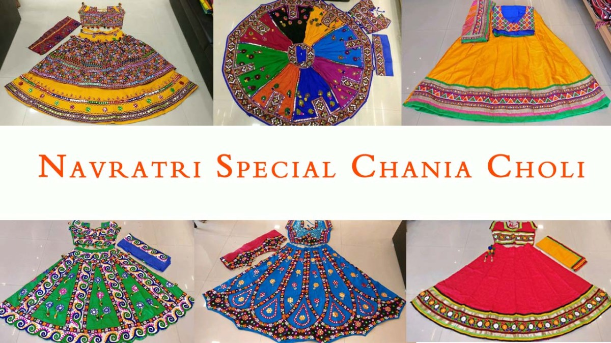 Shop Kutchi Traditional Gamthi work Chaniya Choli for Navratri
