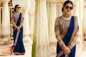 Royal Designer Sarees Code Sakshi 1122