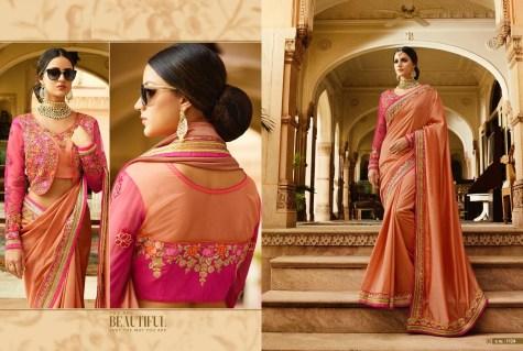 Royal Designer Sarees Code Sakshi 1124