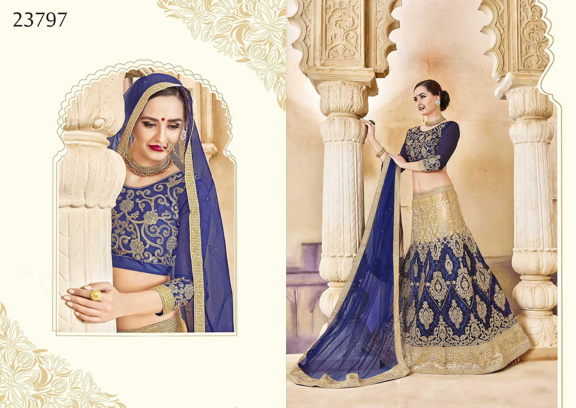 Royal bridal wear lehenga Irish 23797