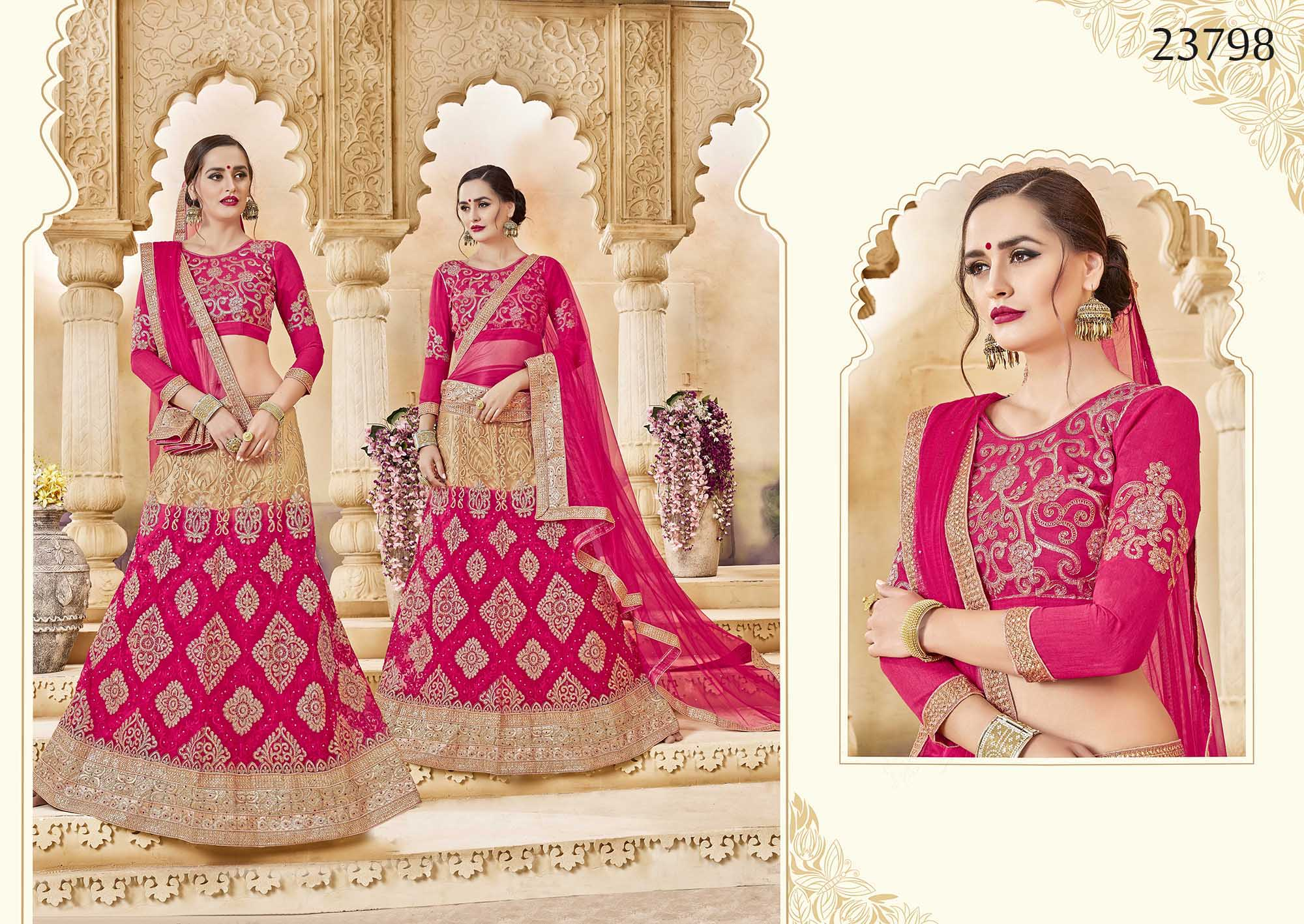 Royal bridal wear lehenga Irish 23798