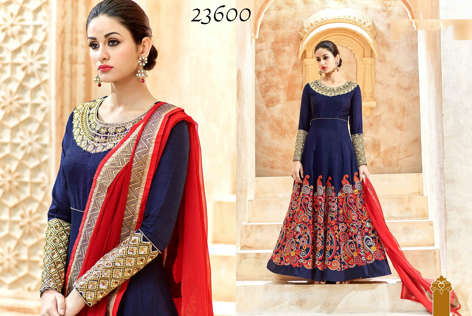 Shaleena Bridal Wedding Anarkali Suits 23600