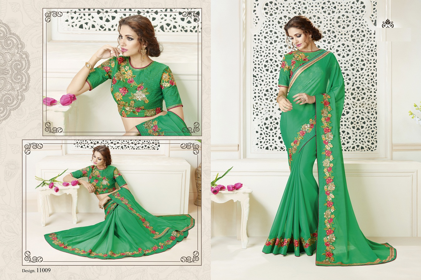 Shalin Party Wear Saree