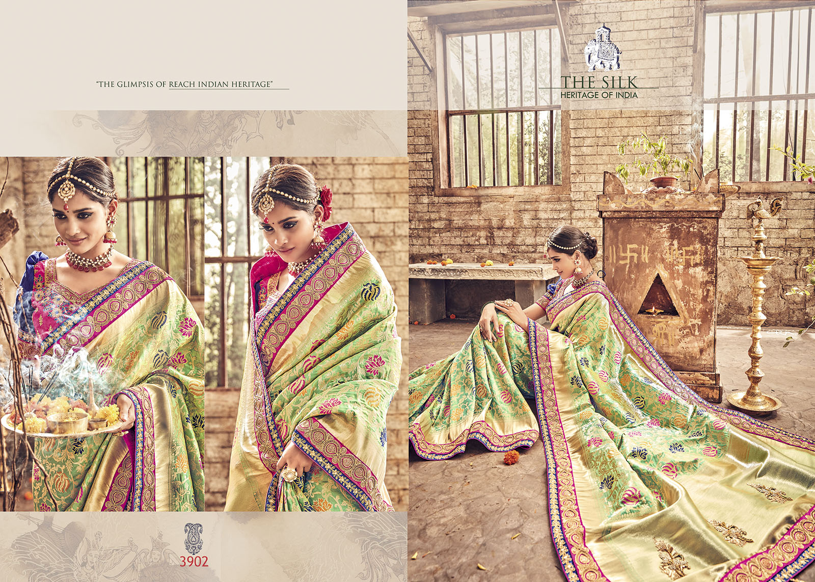 The Silk Banaras Pure Silk Saree
