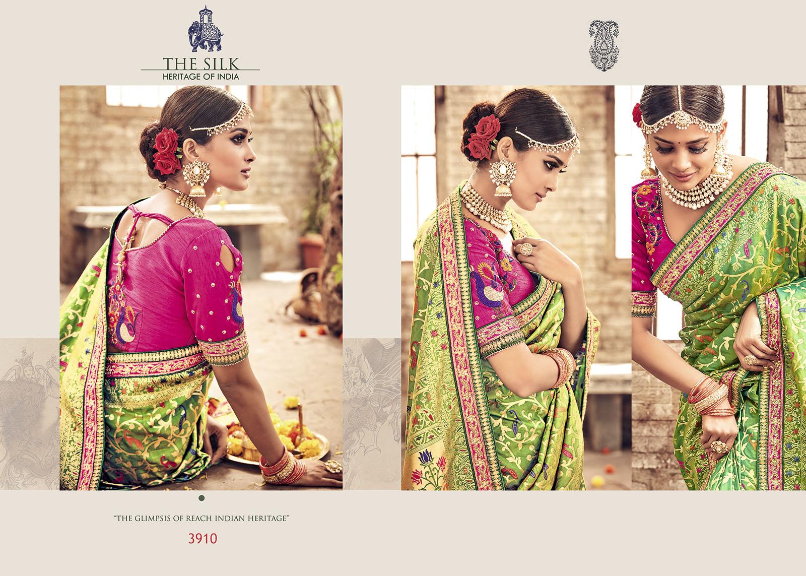 The Silk Banaras Pure Silk Saree