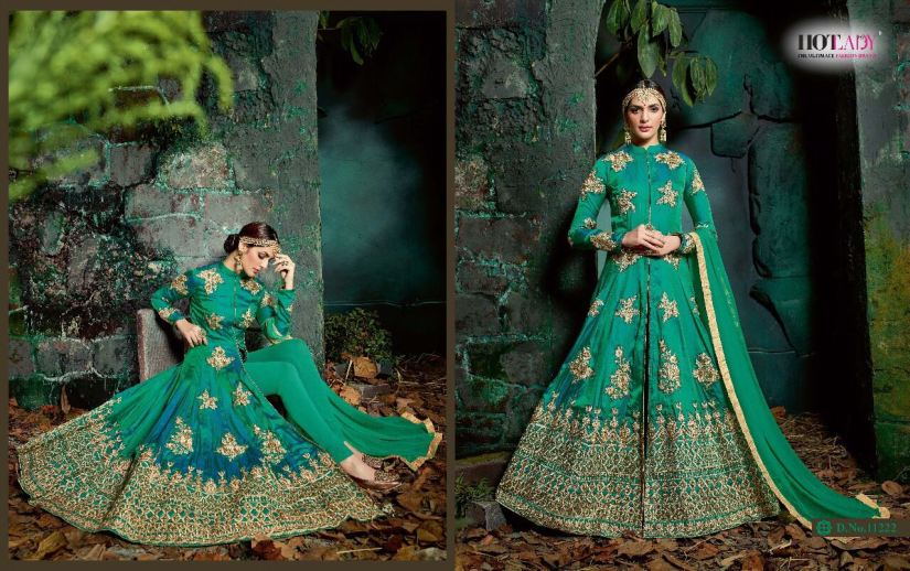 Hotlady Maheera Anarkali suits 11222