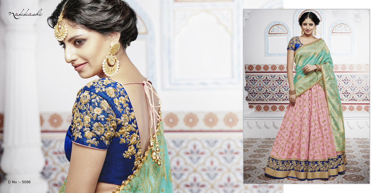 Nakkashi Ethnic Essence Bridal Lehenga Choli