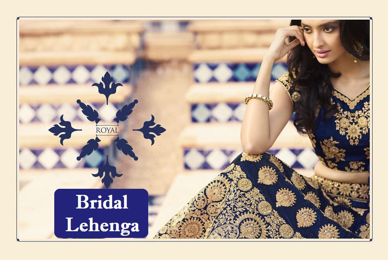 Royal Bridal Lehenga Design