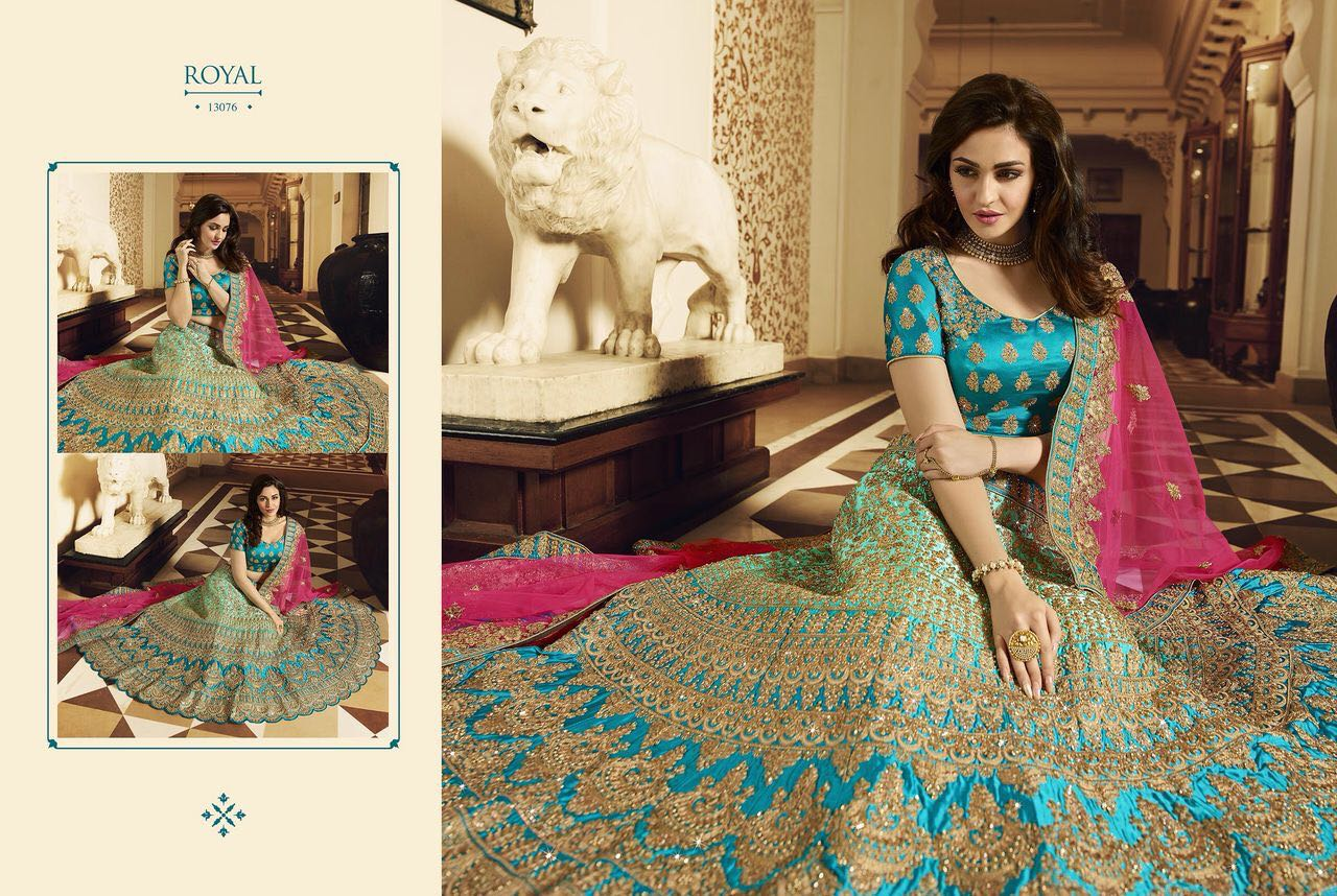 Royal Bridal Lehenga Designs
