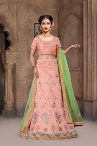 Shop The Mermaid Mulberry Silk Bridal Lehenga Choli Online with the best price.