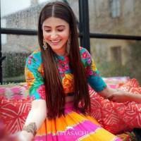 Shop Anshuka Sharma Mehndi Dresses Online