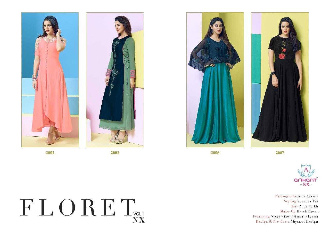 FLORET Vol 1 Nx Indo Western Dresses