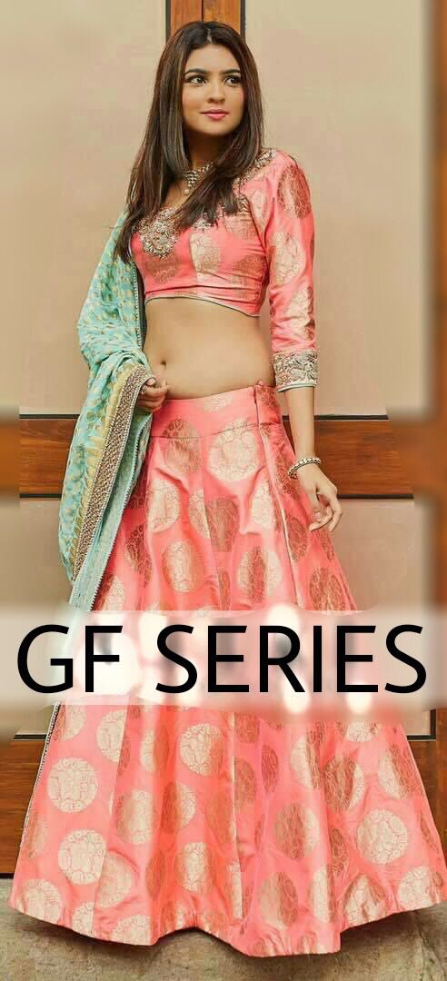 Shop GF Series Lehenga Blouse Collection Online