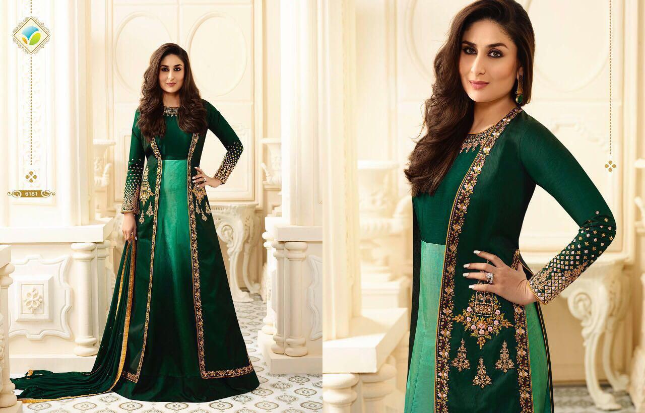 Kaseesh Kareena 2 Designer Suits by Vinay Suits