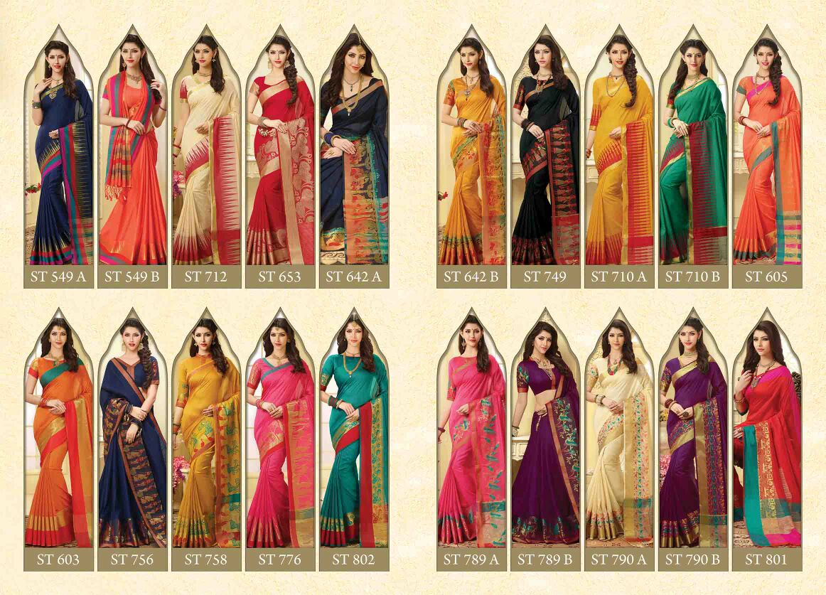 Shop Meghdoot Royal Tassals Banglori Silk Saree Collection Online