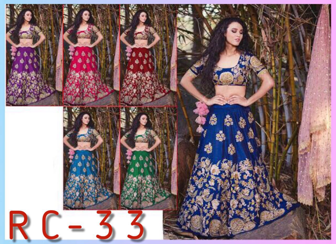 RC 33 Crop Top Lehenga