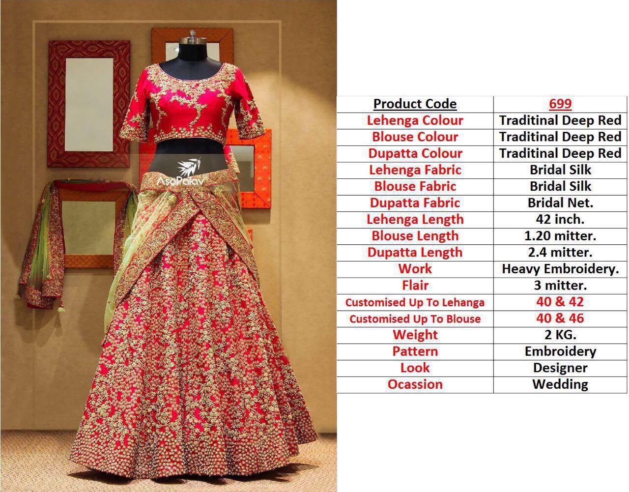 Shop Designer Lehenga Blouse Collection Online