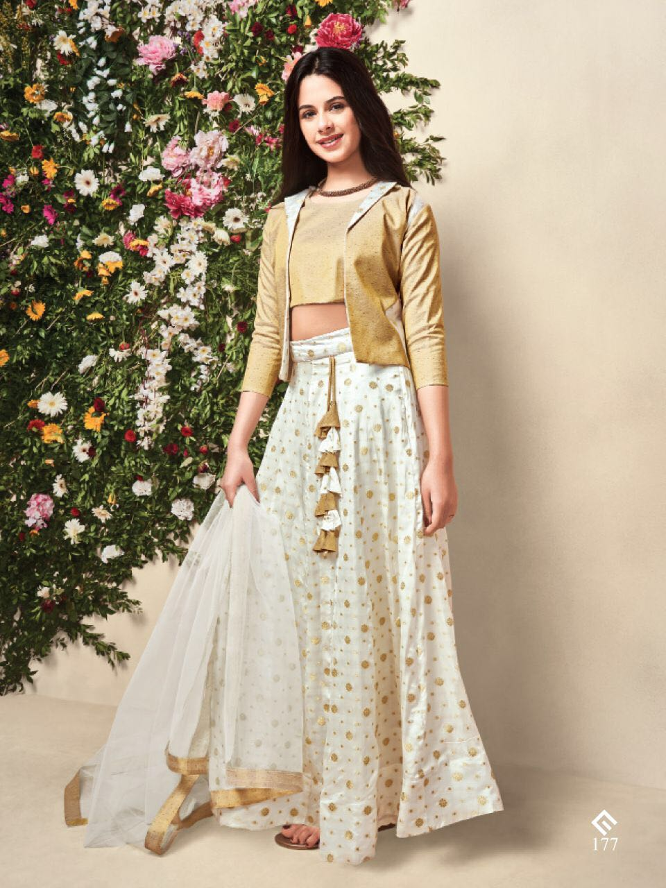 Wedding Lehenga Blouse Choli for Girl