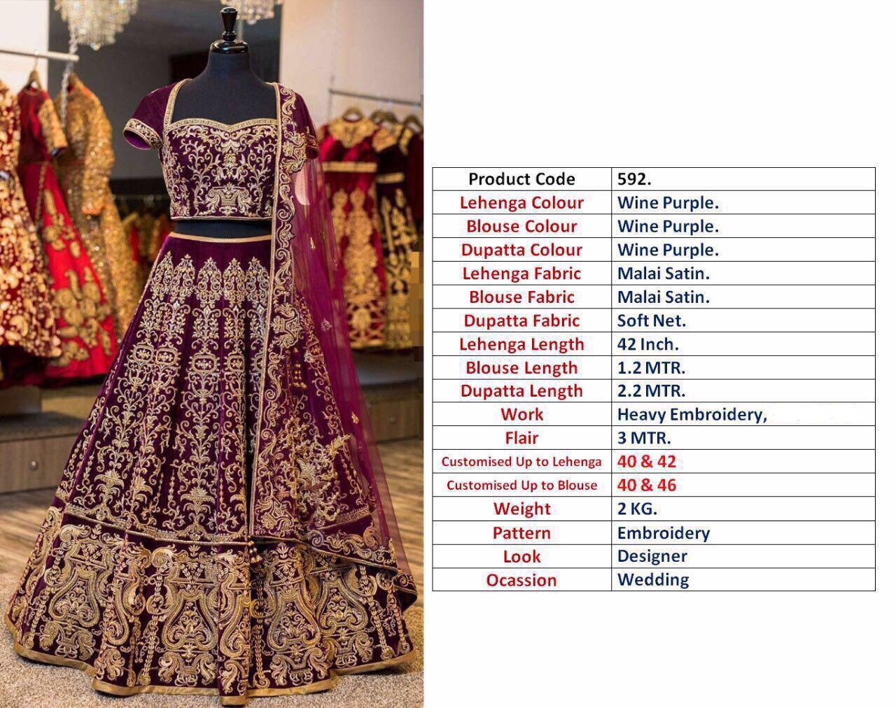 Shop Designer Lehenga Blouse Online
