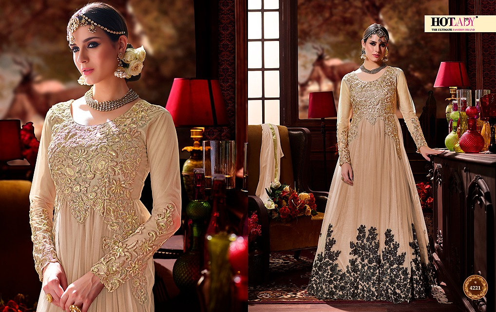 Hot Lady Sheereen 2nd Edition Floor Length Anarkali Suits