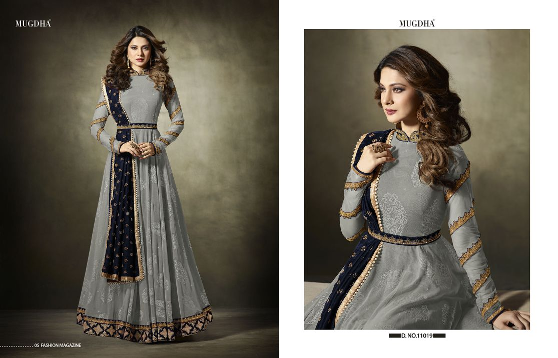 Mugdha Premium Designer Anarkali Suits 11019 Color Edition