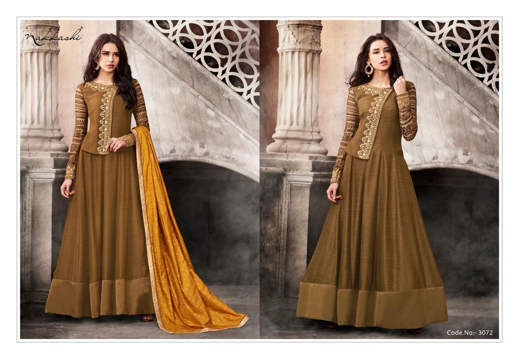 Nakkashi Esteem Designer Indian Traditional Dresses